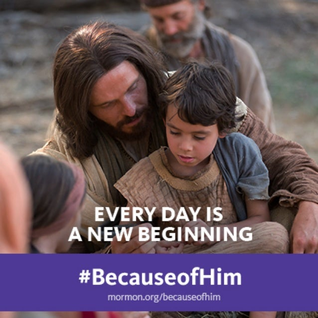 Easter Because of Him #BecauseofHim