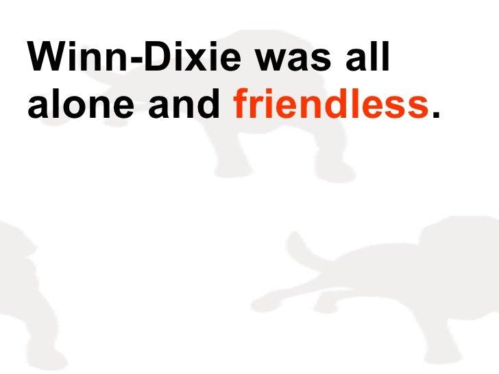 Because Winn Dixie[1]