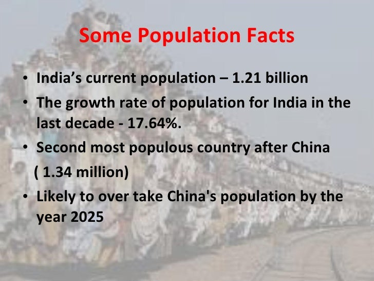 India's huge population - bane or boon?