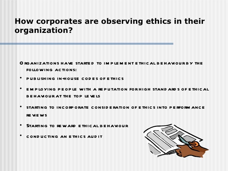 why businesses should act ethically Understand why a small business should have an ethics policy  mechanisms to  protect ourselves, so we may not feel badly about a particular unethical act.