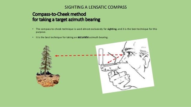how to read compass bearings s30w