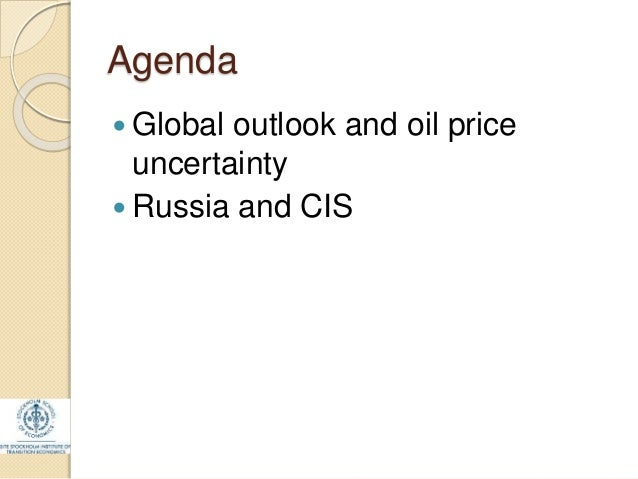 the macroeconomic uncertainty in the oil Implies determining variables that drives the oil market in this regard, a lit-erature also exists that emphasizes the role of economic policy uncertainty on.
