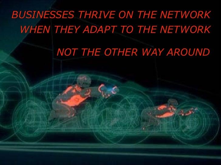 Work like the Network for Shift 2010 Slide 2