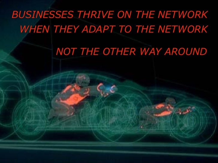 """""""Work like the Network"""" for the Social Business Summit 2010 Slide 2"""