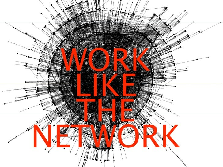 WORK    LIKE    THE NETWORK  Losing Control:  8 Steps to Success in a post 2.0 World