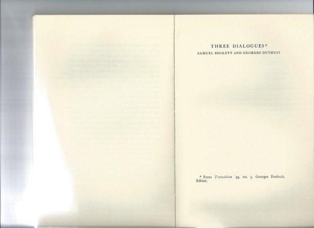 Beckett samuel-three-dialogues-samuel-beckett-and-georges-duthuit