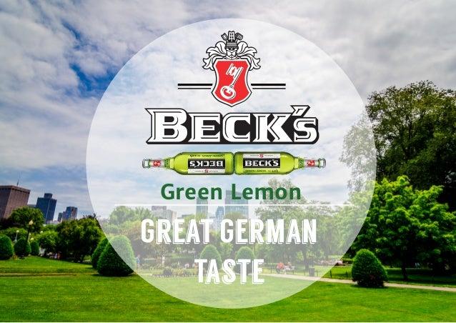 Green Lemon Great German Taste