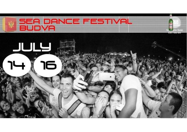 SEA DANCE FESTIVAL 14 JULY BUDVA 16