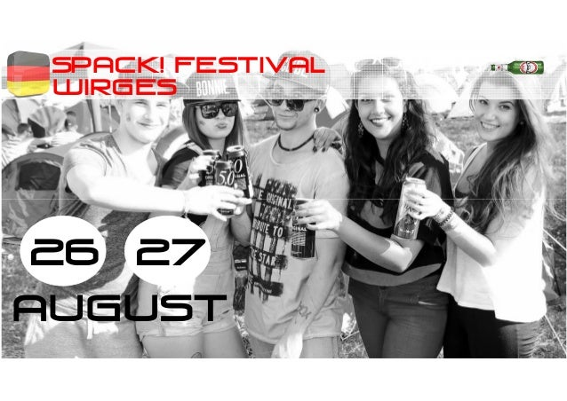 SPACK! festival 26 27 AUGUST WIRGES