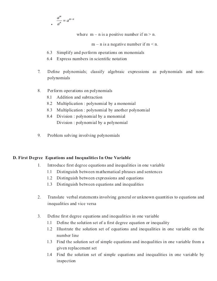 BEC Mathematics
