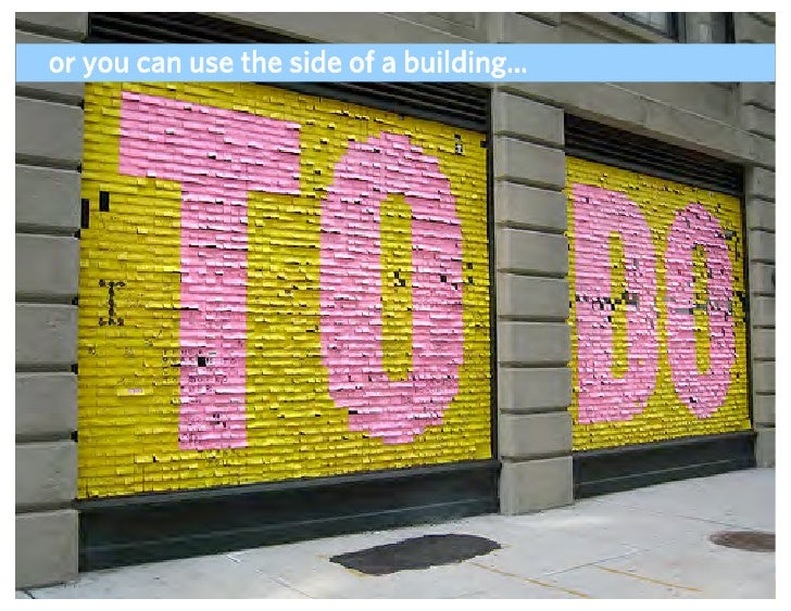 or you can use the side of a building...                                         ADAPTIVE PATH   UX WEEK 2008   August 12,...