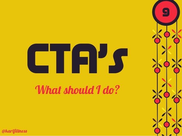CTA'sWhat should I do? @karlfiltness 9