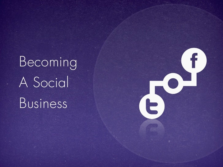 BecomingA SocialBusiness
