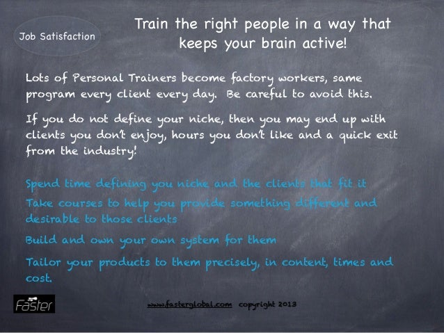 how to become a successful personal trainer uk