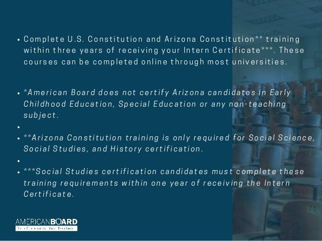 Become A Teacher In Arizona