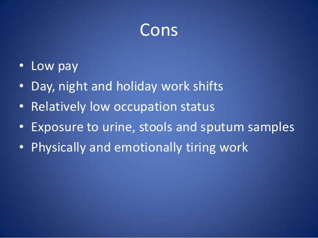 Pros And Cons Of Working As A Certified Nurse Aide Cna