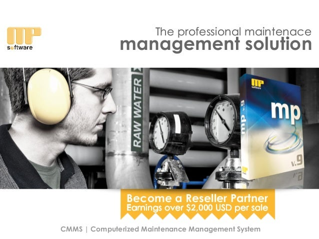 The professional maintenace CMMS | Computerized Maintenance Management System The professional maintenace management solut...