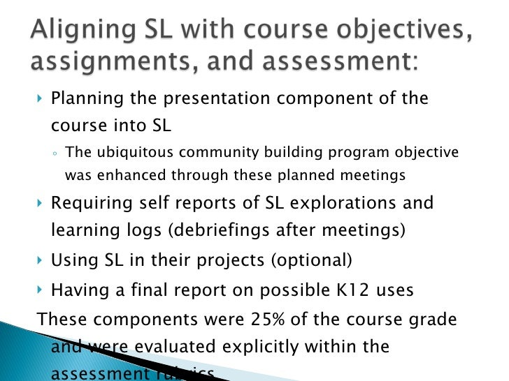 <ul><li>Planning the presentation component of the course into SL  </li></ul><ul><ul><li>The ubiquitous community building...