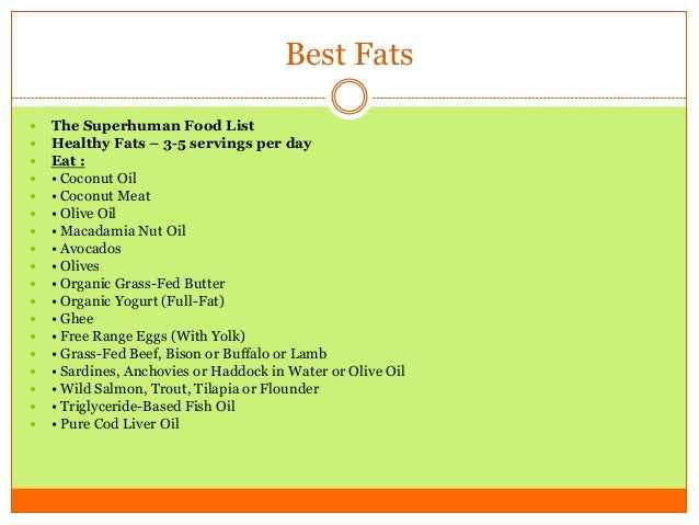 High Carbs Low Fat Foods List