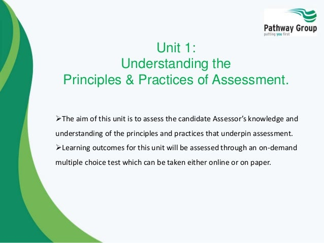 assessing the occupational competence in the work enviroment essay Level 3 award in assessing competence in the work environment (rqf) is a nationally recognised qualification, you can verify the qualification by clicking here qualification number - 601/6089/5 qualification level - level 3.