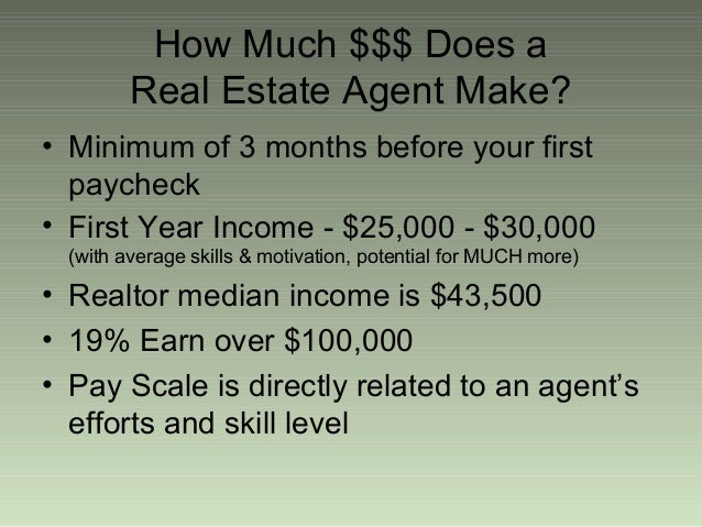 How much do real estate agents make per house what does it for How much to build a house in ma