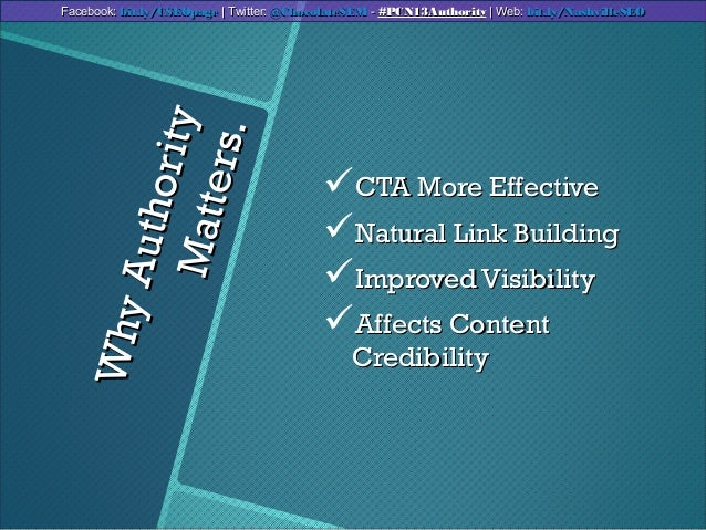 WhyAuthorityWhyAuthorityMatters.Matters.CTA More EffectiveCTA More EffectiveNatural Link BuildingNatural Link BuildingI...