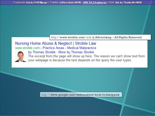 http://www.google.com/webmasters/tools/richsnippetshttp://www.stroble.com/ c/o cj Advertising – All Rights Reserved.http:/...