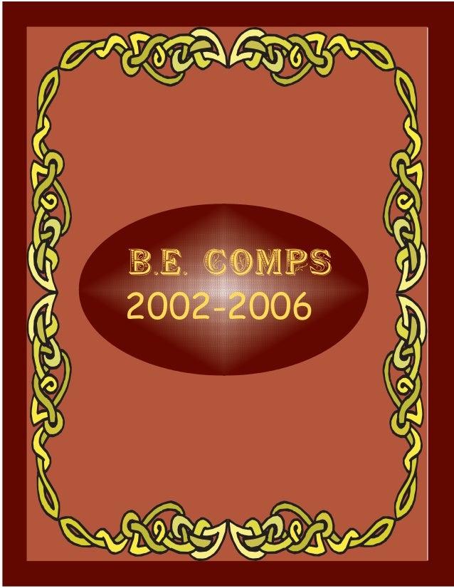 B.E. COMPS202002-2006