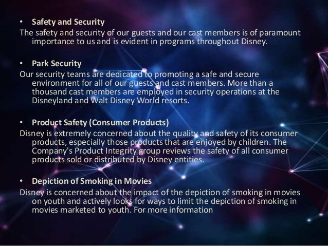 disney ethical issues