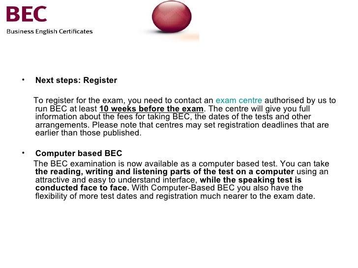 Cambridge Bec 4 Vantage (BEC Practice Tests): Cambridge ...