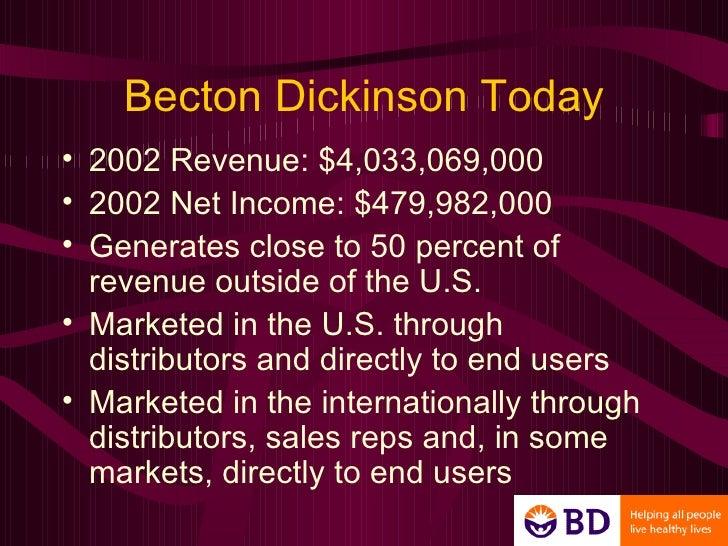 Becton dickinson company vacutanier systems