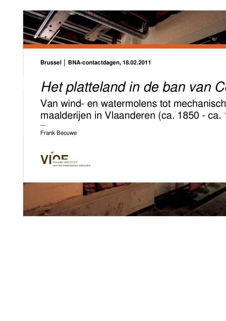Frank Becuwe Het Platteland In De Ban Van Ceres Van Wind En Water
