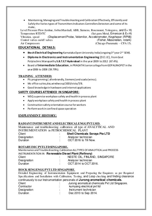 Best Field Technician Cover Letter Examples LiveCareer ICT Technician
