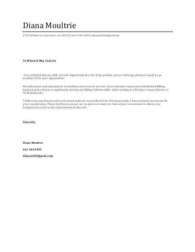 Resume Cover Letter (1)