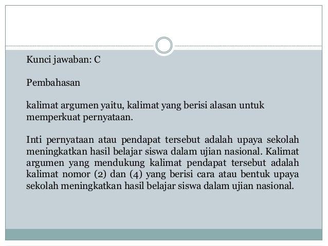 Bedah soal un bahasa indonesia sma 1718
