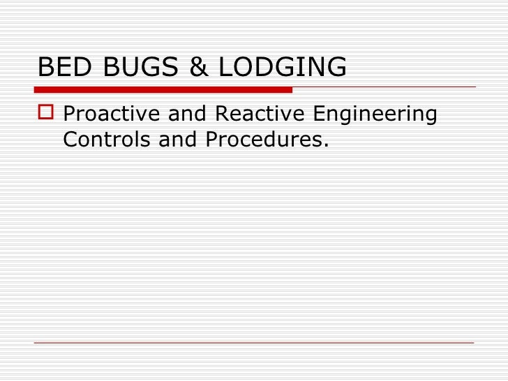 Hospital Bed Bug Policy Procedure