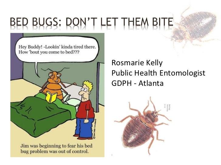 Rosmarie Kelly Public Health Entomologist GDPH - Atlanta