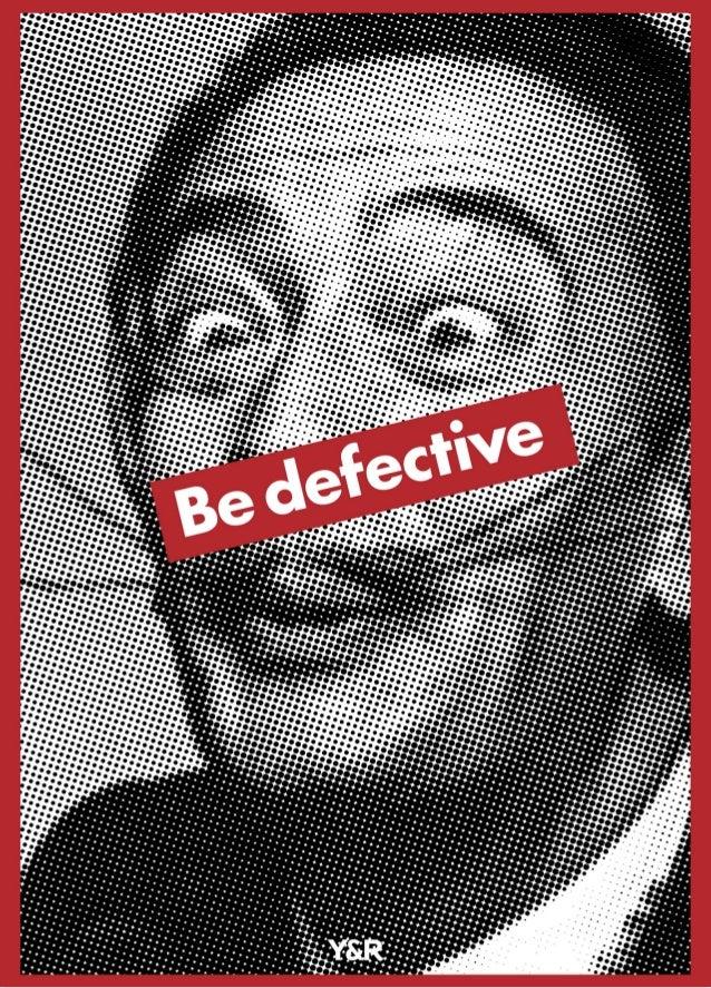 Be defective