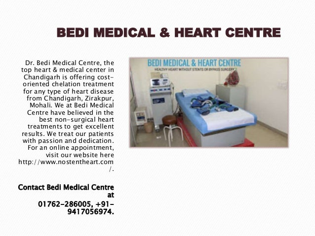 BEDI MEDICAL & HEART CENTRE Dr. Bedi Medical Centre, the top heart & medical center in Chandigarh is offering cost- orient...