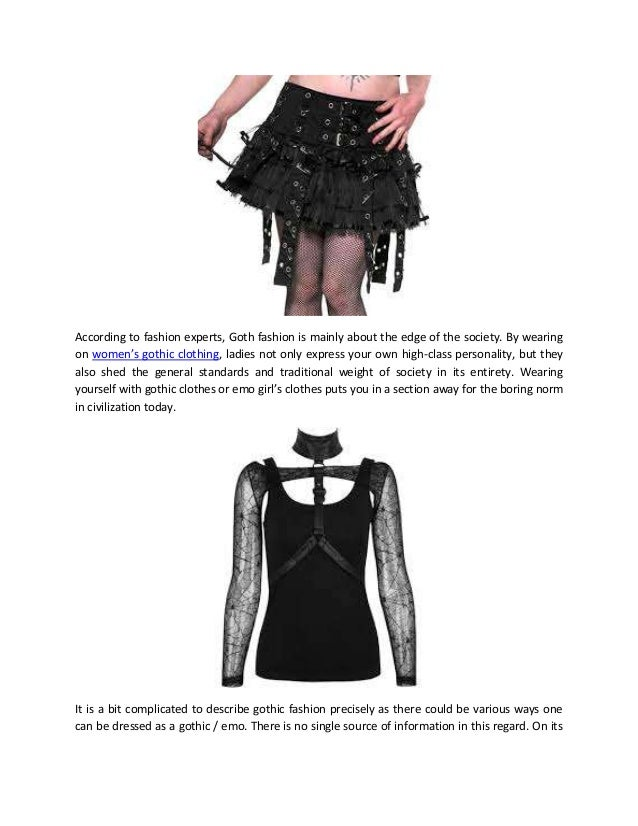 Be distinctive with womens gothic clothing 2 according to fashion experts goth solutioingenieria Images
