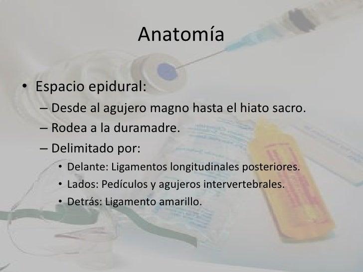 Bloqueo epidural
