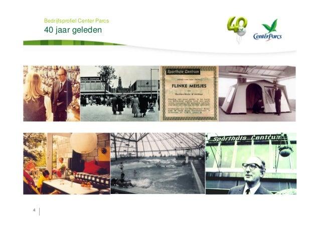 40 jaar center parcs Bedrijfspresentatie Center Parcs 40 jaar center parcs