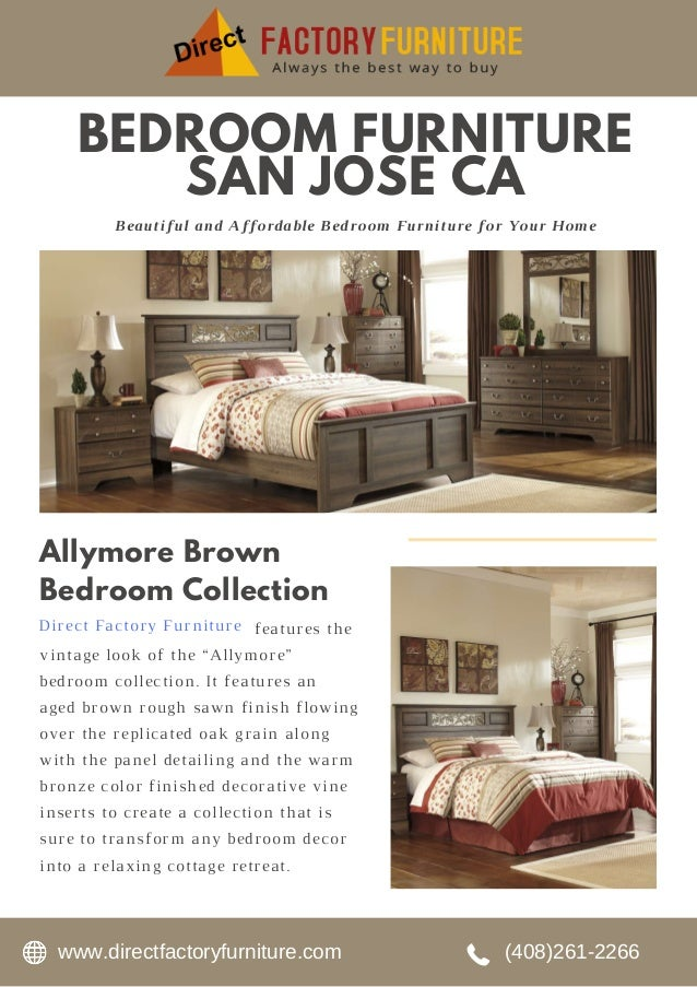 . Bedroom Furniture in San Jose CA   DFF