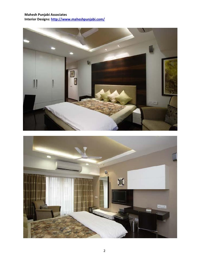 Bedroom Iinterior Design Ideas by Mahesh Punjabi Interior Designer