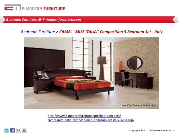 Classic Designs  7 Modern Bedroom Furniture. Miss Italia Bedroom Set. Home Design Ideas