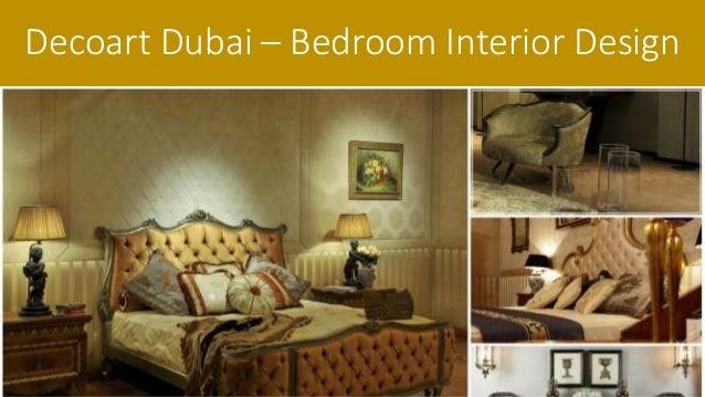 Decoart Dubai Bedroom Interior Design