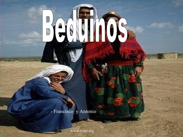  Beduinos - Francisco  y Antonio  www.iibet.org