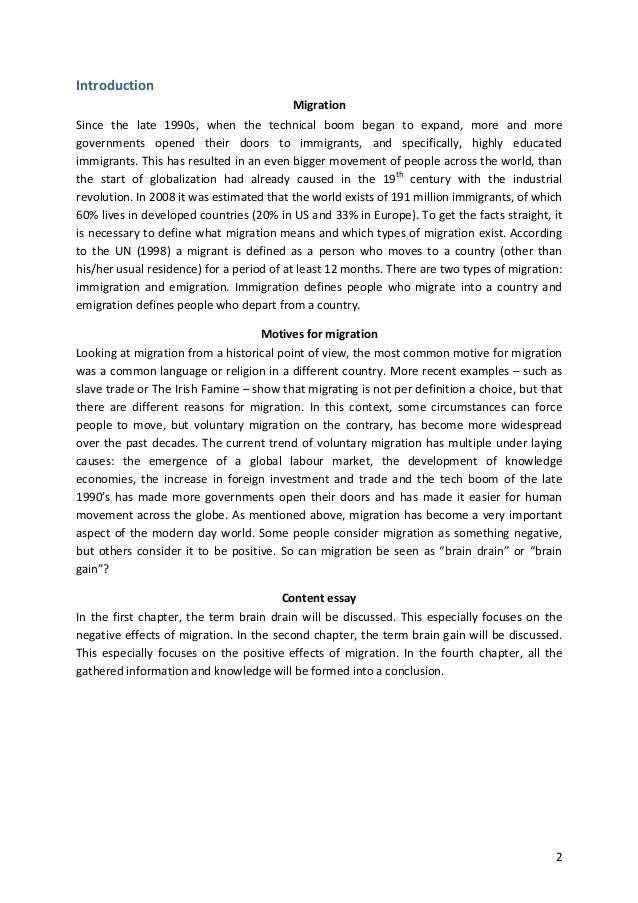 conclusion for industrial revolution americanizattion movement and immigration essay Title: surg winter 2011, author  th his essay analysees how a  they stress that students were essential to the movement as they were among the first.