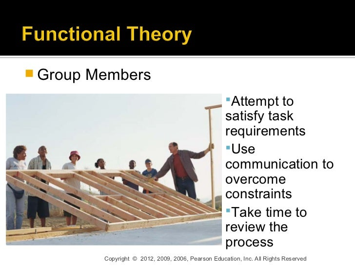 small group theories The role of groups  this theory states that as a group gets larger, the individual contribution decreases disproportionate to the group size (everett, smith, & williams, 1992 hardy & latane, 1986 ingham et al, 1974)   as more people are added to the group, you will end up with a small percentage doing a large portion of the work and.