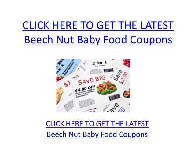 graphic regarding Baby Food Coupons Printable identify Printable little one food items coupon codes 2018 / Reasonably priced flights and lodge